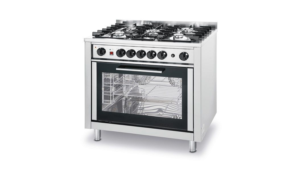 GAS COOKER - WITH EL.OVEN